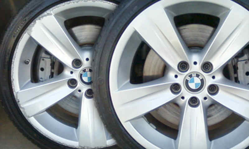 Wheel Refurbishment in Gateshead